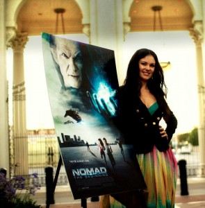 Natasha Blasick Attends Nomad Screening At Sony Lot